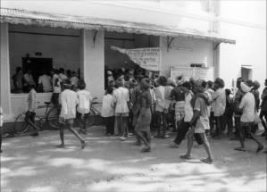 Adivasi activists, Alirajpur, madhya Pradesh, India, March 2003
